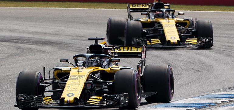 Renault hat Rang vier in Konstrukteurs-WM gefestigt