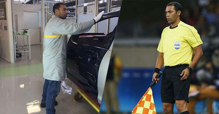Fußball-WM: Renault Mitarbeiter im Schiedsrichterteam dabei