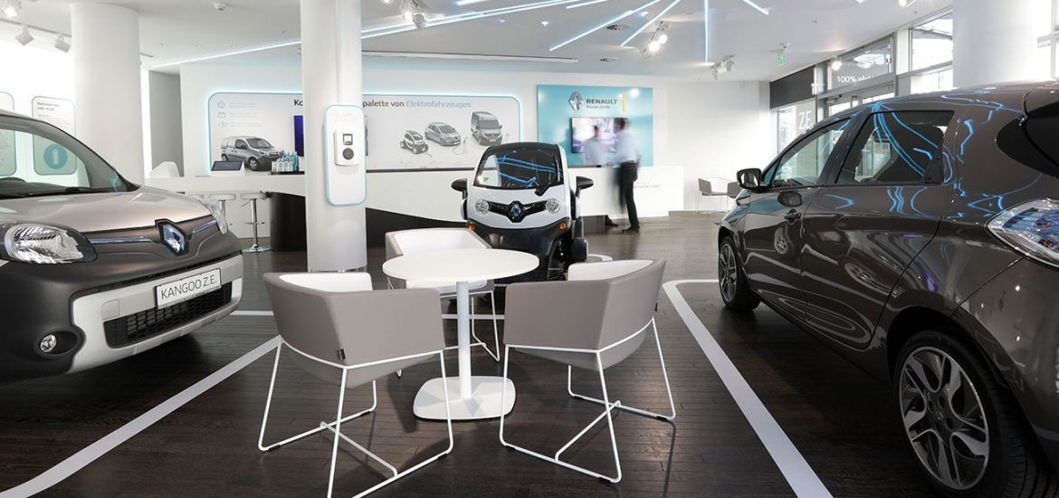 Renault Electric Vehicle Center in Berlin