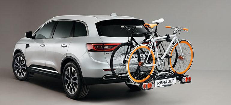 Fahrradtraeger und Dachboxen von Renault