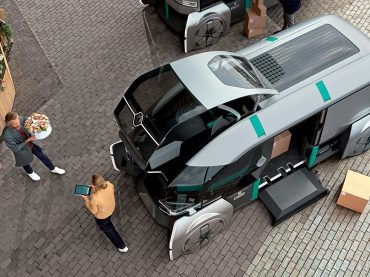 """Renault Studie EZ-PRO: Vollautonomes Logistikkonzept für die """"letzte Meile"""""""