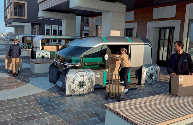 Renault EZ-GO: Voll autonomes Transportsystem fuer die City