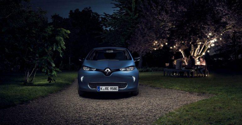 Robo-ZOE: Renault testet autonom fahrende Taxi-Flotte