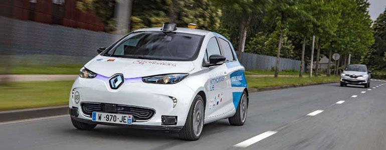 Autonomes Renault Taxi: Hier kommt Robo-ZOE