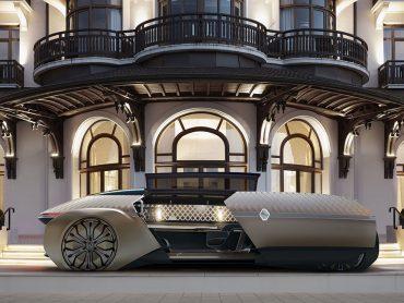 Renault Studie EZ-ULTIMO: Vollautonomes Robo-Car der Luxusklasse