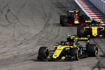 Nullrunde für Renault, Aufholjagd von Verstappen