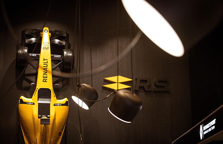 Das neue F1 Restaurant