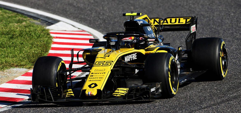 Renault Sport F1 in Japan