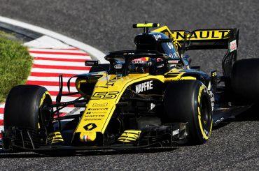 Renault Sport F1 erringt WM-Punkt