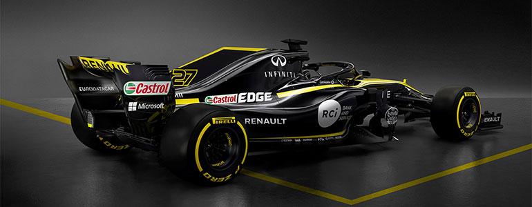 Renault präsentiert neuen Formel 1-Boliden