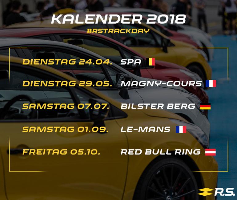 Renault Sport Track Days: Rasanter Rennstreckenspaß