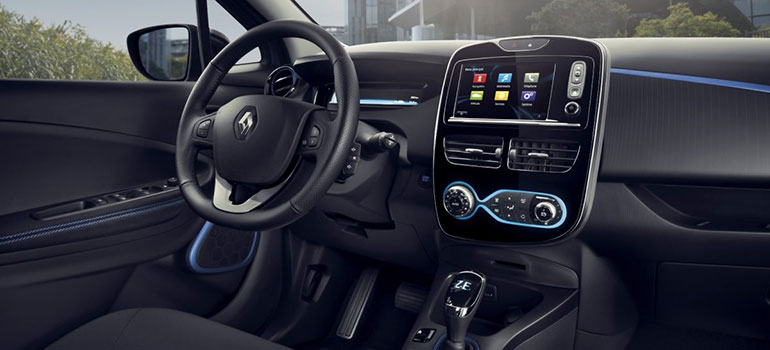 Der Renault ZOE in Kooperation mit dem ADAC