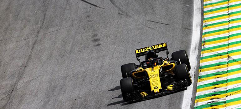 Renault F1: Keine Punkte in Brasilien