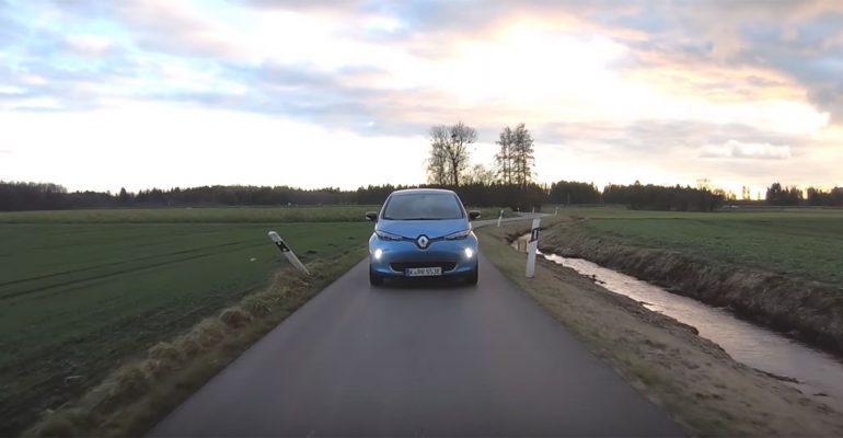 Renault ZOE besteht Praxistest von YouTuber Alex