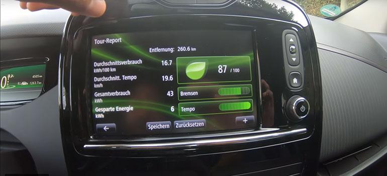 Renault ZOE besteht Praxistest von YouTuber Alex Ausstattung