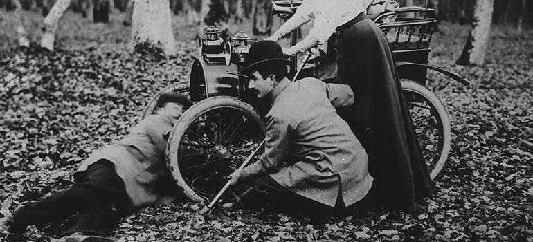 Autoreifen-Historie: jetzt geht's rund. Renault Type A 1898