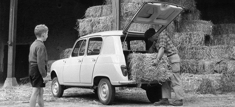 Autoreifen-Historie: jetzt geht's rund. Renault 4 1961
