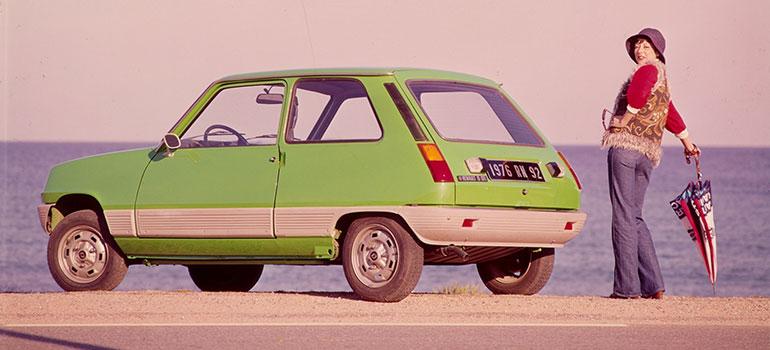 Autoreifen-Historie: jetzt geht's rund. Renault 5 1972