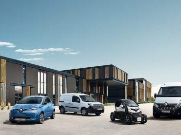 Renault ist Marktführer bei E-Fahrzeugen in Europa