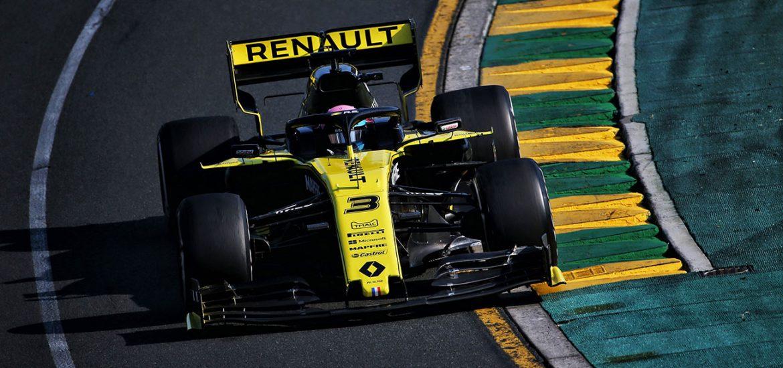 Renault F1 Team GP Australien 2019