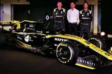 Renault F1 Team komplettiert Fahrerkader 2019