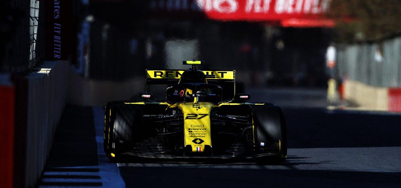 Renault F1 Team Baku 2019