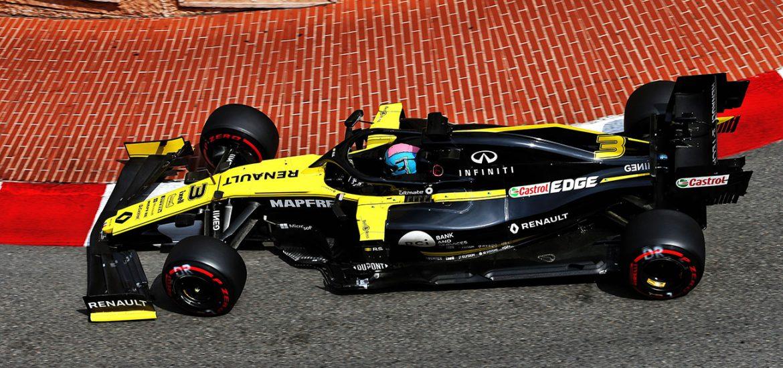 Renault F1 in Monaco