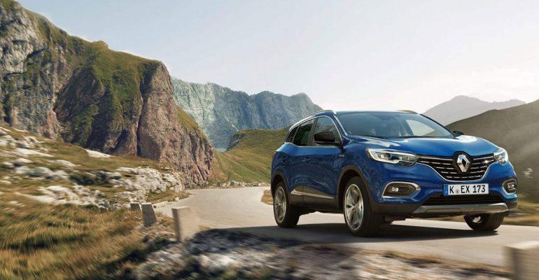 Renault KADJAR jetzt auch mit variablem Allradantrieb