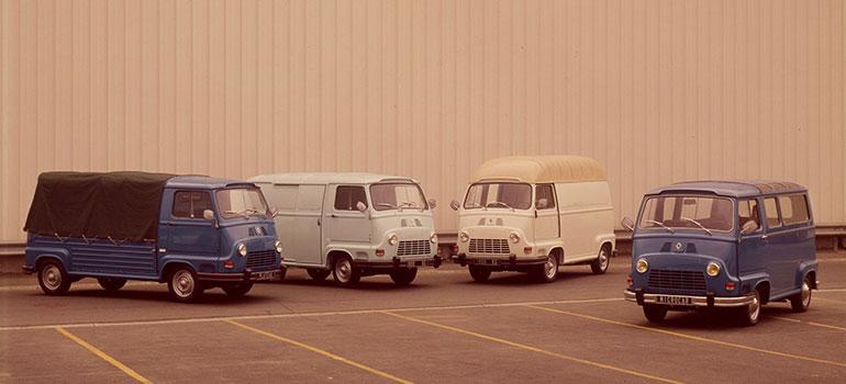 Nutzfahrzeuge von Renault Historie