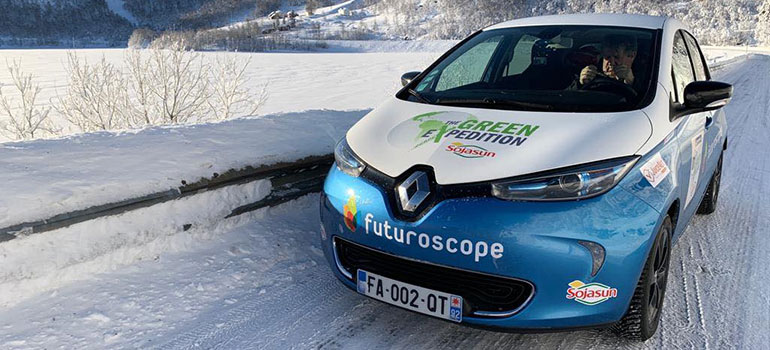 Mit dem Renault ZOE zum Nordkap