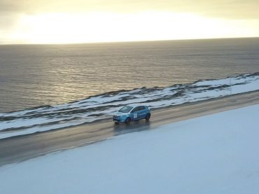 Elektroauto auf eisiger Expedition: mit dem Renault ZOE zum Nordkap