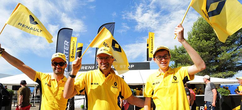 Mit Renault zur Formel 1: Tolles Fanpaket für Hockenheim