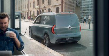 Blick in die nahe Zukunft: Renault KANGOO Z.E. Concept
