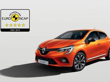 Fünf Euro NCAP-Sterne: Neuer CLIO brilliert mit Top-Sicherheit