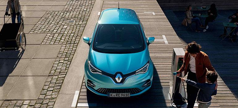 Neuer Renault ZOE: mehr Reichweite, neue Technik, markanteres Design, neuer Innenraum