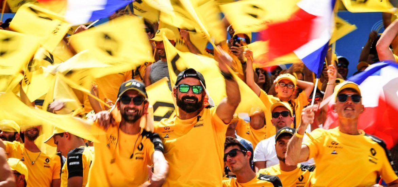 Renault F1 fährt beim Heim-Grand Prix erneut in die Top-Ten