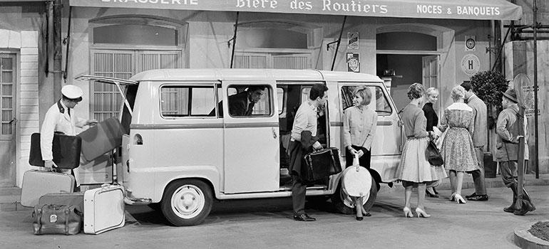 60 Jahre Estafette – erster Renault mit Vorderradantrieb