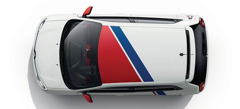 "Renault TWINGO mit Trikolore: Sondermodell ""le coq sportif"""