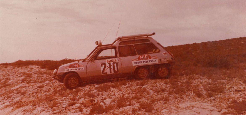 40 Jahre Renault 5 6x6: Auf sechs Rädern durch die Wüste