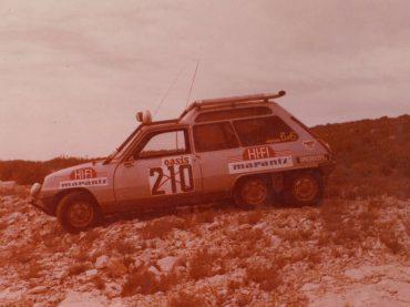 40 Jahre Renault 5 6×6: Auf sechs Rädern durch die Wüste