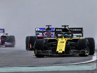Hockenheim: Renault steht im Regen