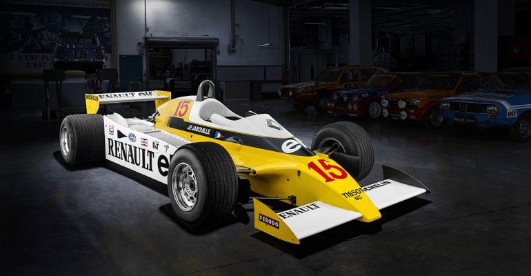 Formel 1, Rallye & Co.: Renault fährt mit Turbo-Power zum Triumph