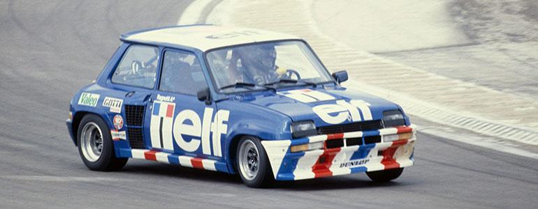 40 Jahre Turbo-Power: Renault 5