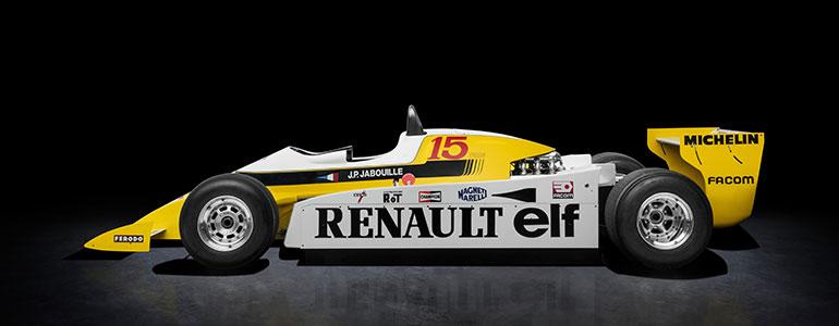 Formel 1: Vor 40 Jahren feiert Renault den ersten Turbo-Sieg