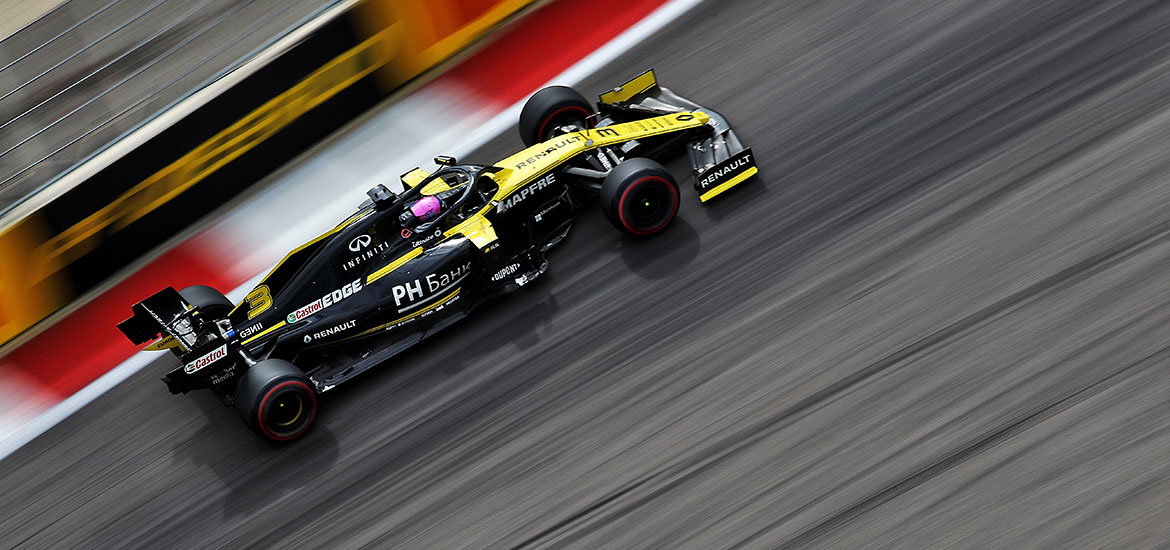 Renault F1 Team in Sotchi 2019