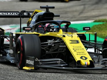 Starkes Rennen für Renault F1 in Italien