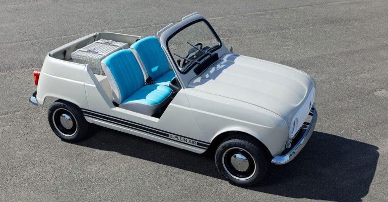 Luftig und kultig: Showcar Renault 4 e-Plein Air