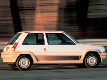 Renault 5 GT Turbo schlägt 1989 die Rallye-Weltelite