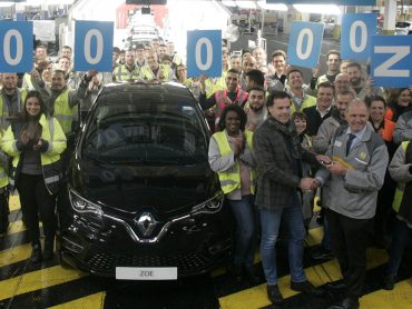 Elektroauto Renault ZOE: 200.000 Exemplar läuft in Flins vom Band