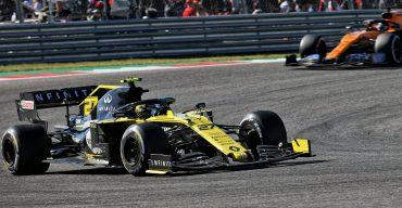 Formel 1 in den USA: Renault F1 punktet doppelt